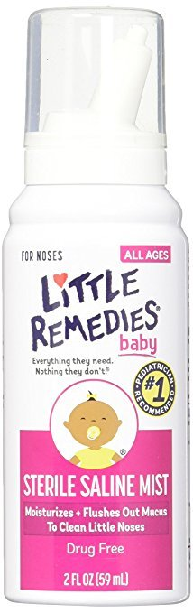 Image 0 of Little Noses Baby Saline Spray 2oz