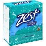 Zest Aqua Bath Bar 3 x 4oz
