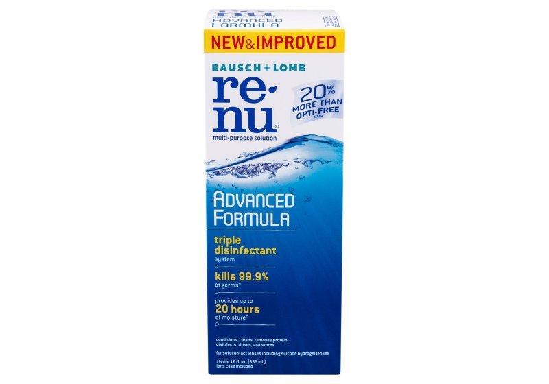 Renu Advanced Formula Mps Solution 12oz