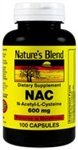 Image 0 of Natures Blend NAC 600mg 100 Capsules