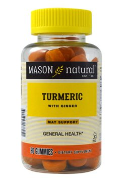 Image 0 of Mason Turmeric with Ginger Gummies 60ct