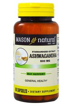 Image 0 of Mason Ashwagandha 500mg 60ct Capsules