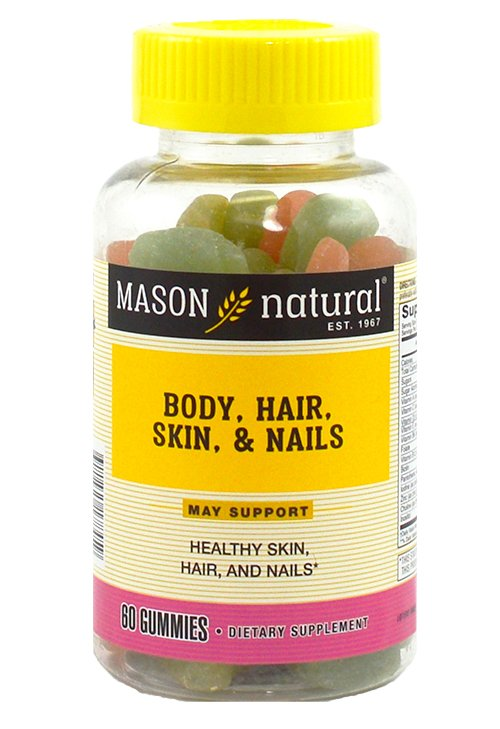 Image 0 of Mason Body Hair Skin & Nails Gummies 60ct