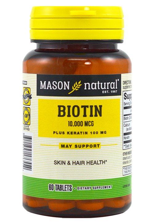 Image 0 of Mason Biotin 10000mcg 60ct Tablets