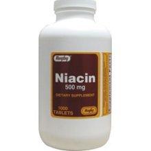 Niacin 500 Mg 1000 Tablet