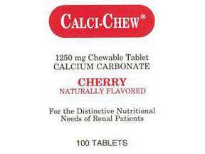Image 0 of Calci-Chew Cherry 1250 mg Chew 100 Each