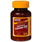 Image 0 of Calcium Carbonate 500 Mg 60 Chew Able Tab By Major Rugby