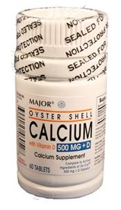 Image 0 of Calcium+D Oyster 500 Mg 300 Tablet By Major Pharma