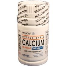 Image 0 of Calcium+D Oyster 500 Mg Tablet 60 By Major Pharma