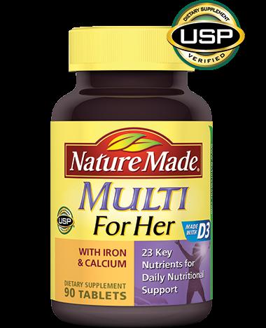 Nature Made Multivitamin Women 90 Tablet