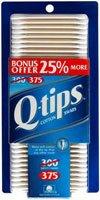 Q-Tips Cotton Swabs 375