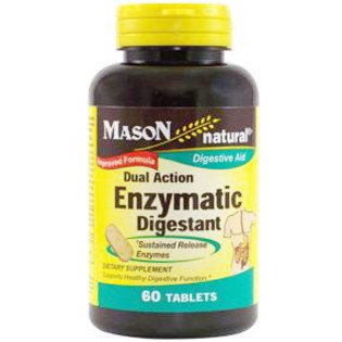 Image 0 of Dual Action Enzymatic Digestant Digestive Aid Tablets 60