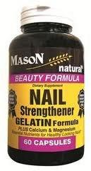 Image 0 of Nail Strengthener with Gelatin Beauty Formula Plus Calcium & Magnesium Cap 60