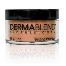 Image 0 of Dermablend Loose Setting Powder 1 oz Warm Saffron