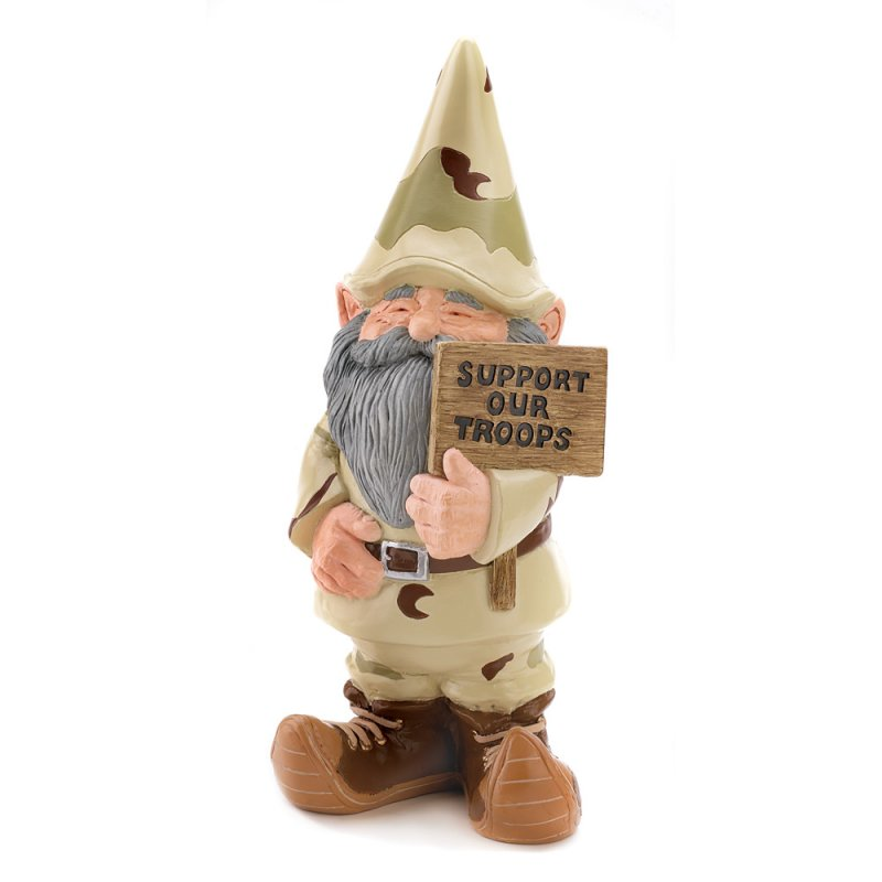'.Support Our Troops Gnome.'