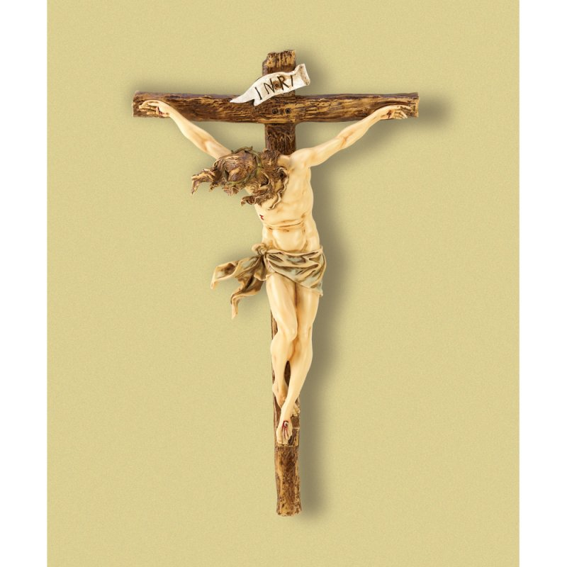 Image 1 of Classic Renaissance Design Wall Crucifix