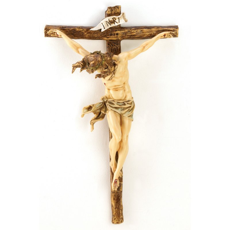 Image 0 of Classic Renaissance Design Wall Crucifix