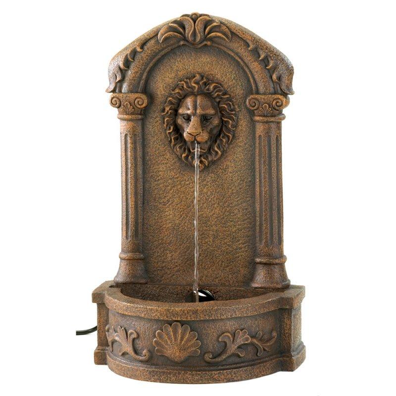 Image 1 of European Design Lion's Head Courtyard Outdoor Fountain