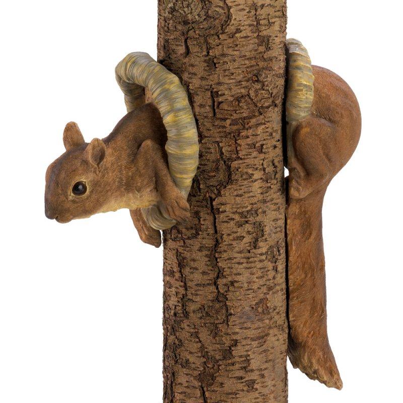 Image 1 of 2 Piece Squirrel Garden / Tree Figurine