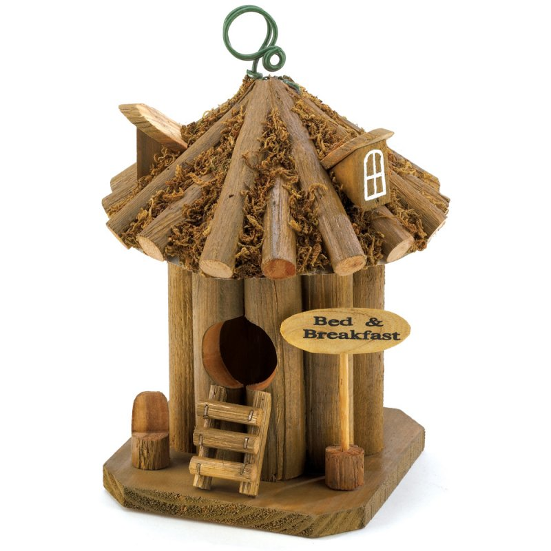 Image 0 of Quaint Rustic Bed and Breakfast Birdhouse Hut