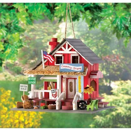 Image 0 of Old Time Country Store Decorative Birdhouse