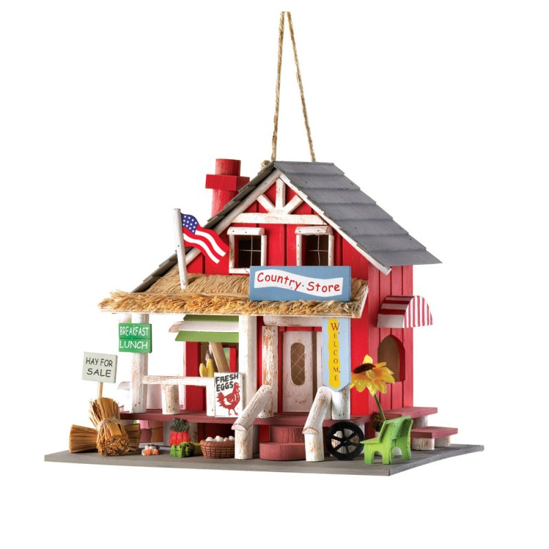 Image 1 of Old Time Country Store Decorative Birdhouse