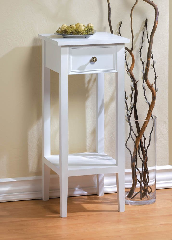 Slim accent table