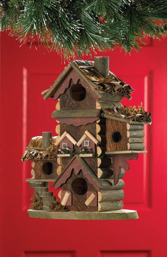 Image 1 of Gingerbread Condo Design Birdhouse