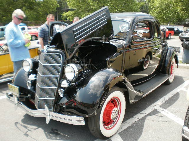 1935 Ford 5 Window Coupe W/Rumble Seat