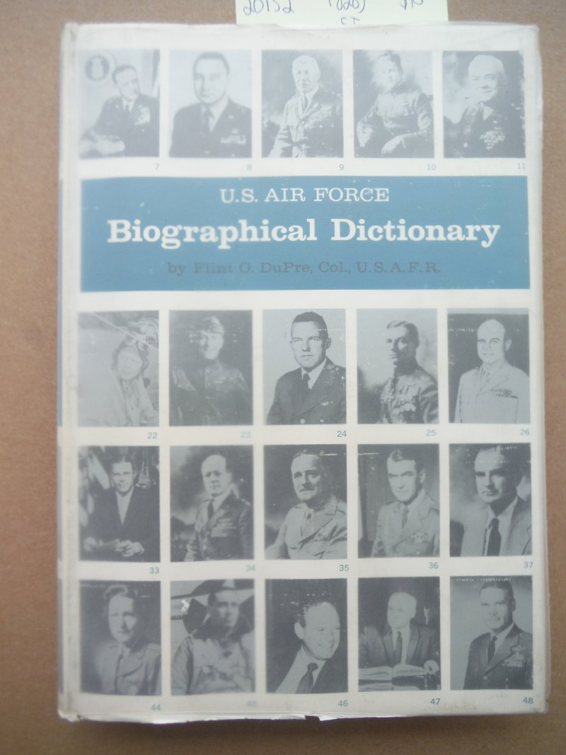 Image 0 of U.S. Air Force biographical dictionary,