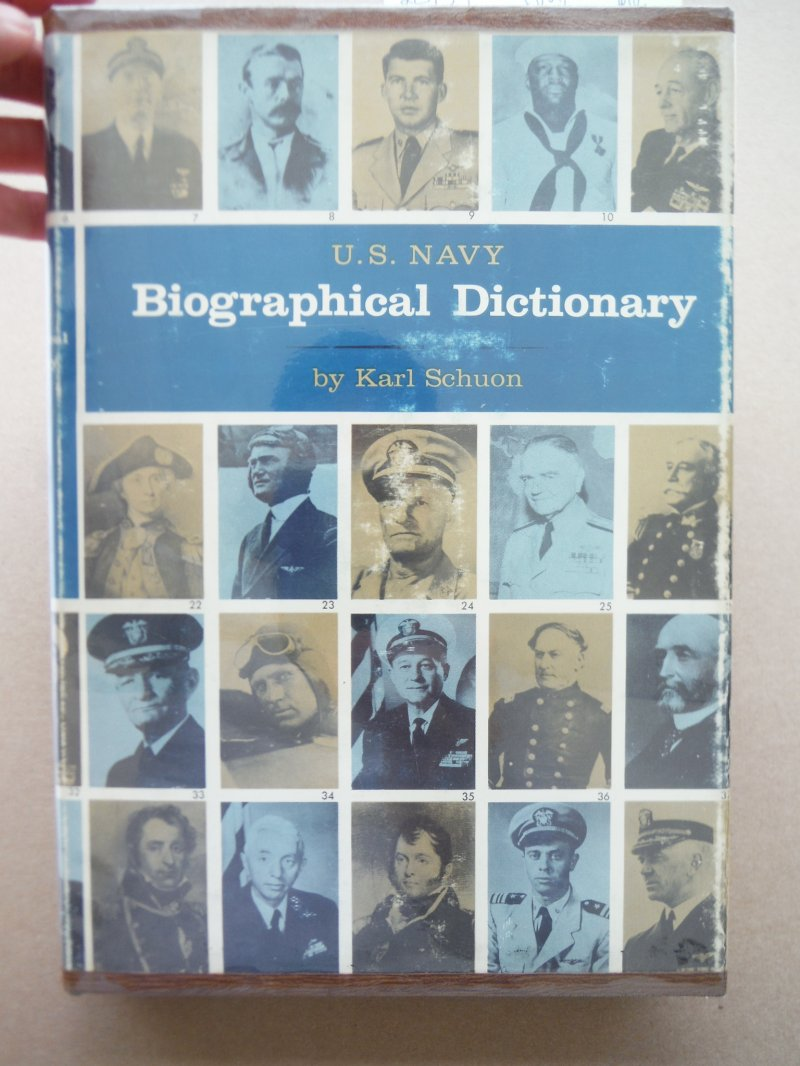 Image 0 of U.S. Navy Biographical Dictionary