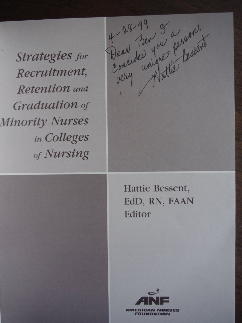 Image 1 of Strategies for Recruitment, Retention, and Graduation of Minority Nurses in Coll