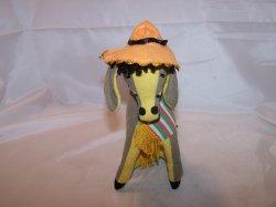 Dream Pet Donkey w Hat, R. Dakin, Applause, 2004