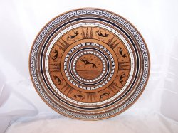 Grecian Etruscan Design Tray, Serving