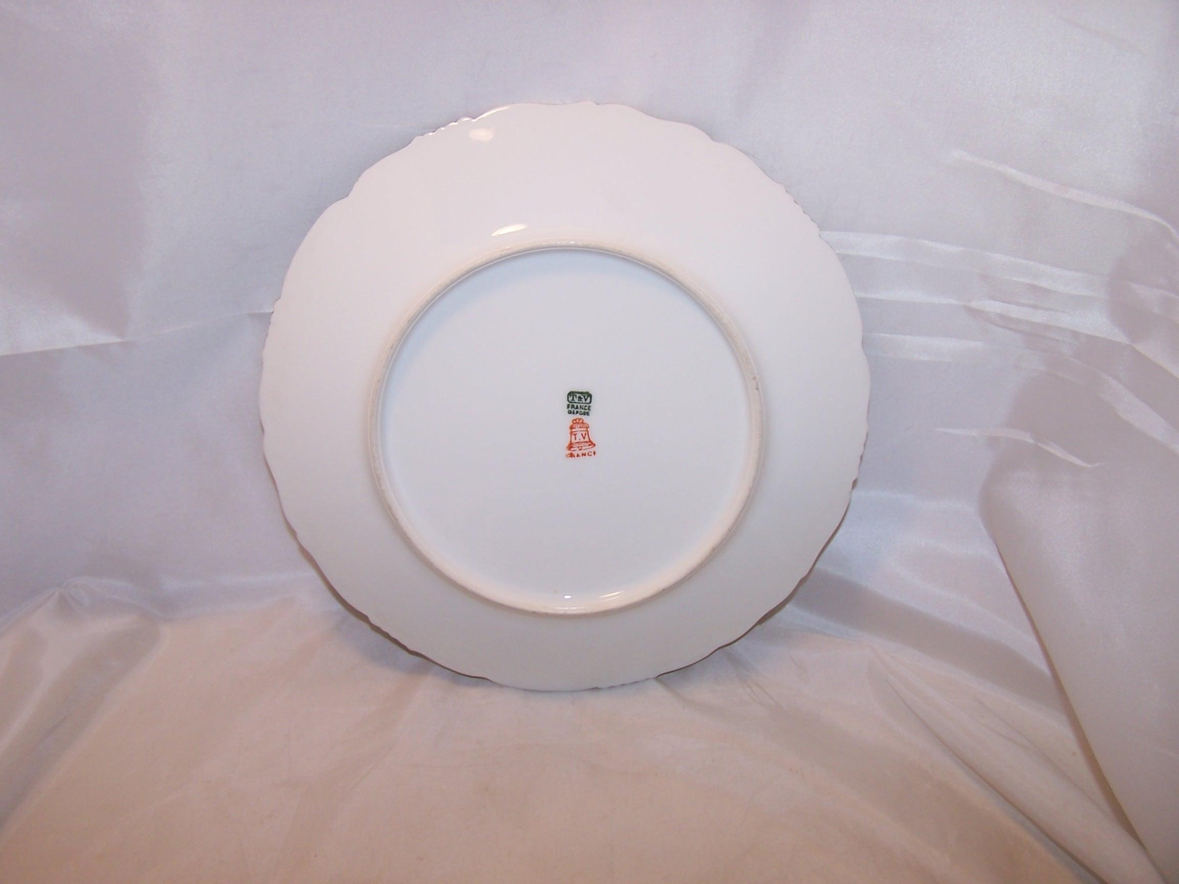 Image 1 of T&V Tressemanes & Vogt Depose Mistletoe Plate, France