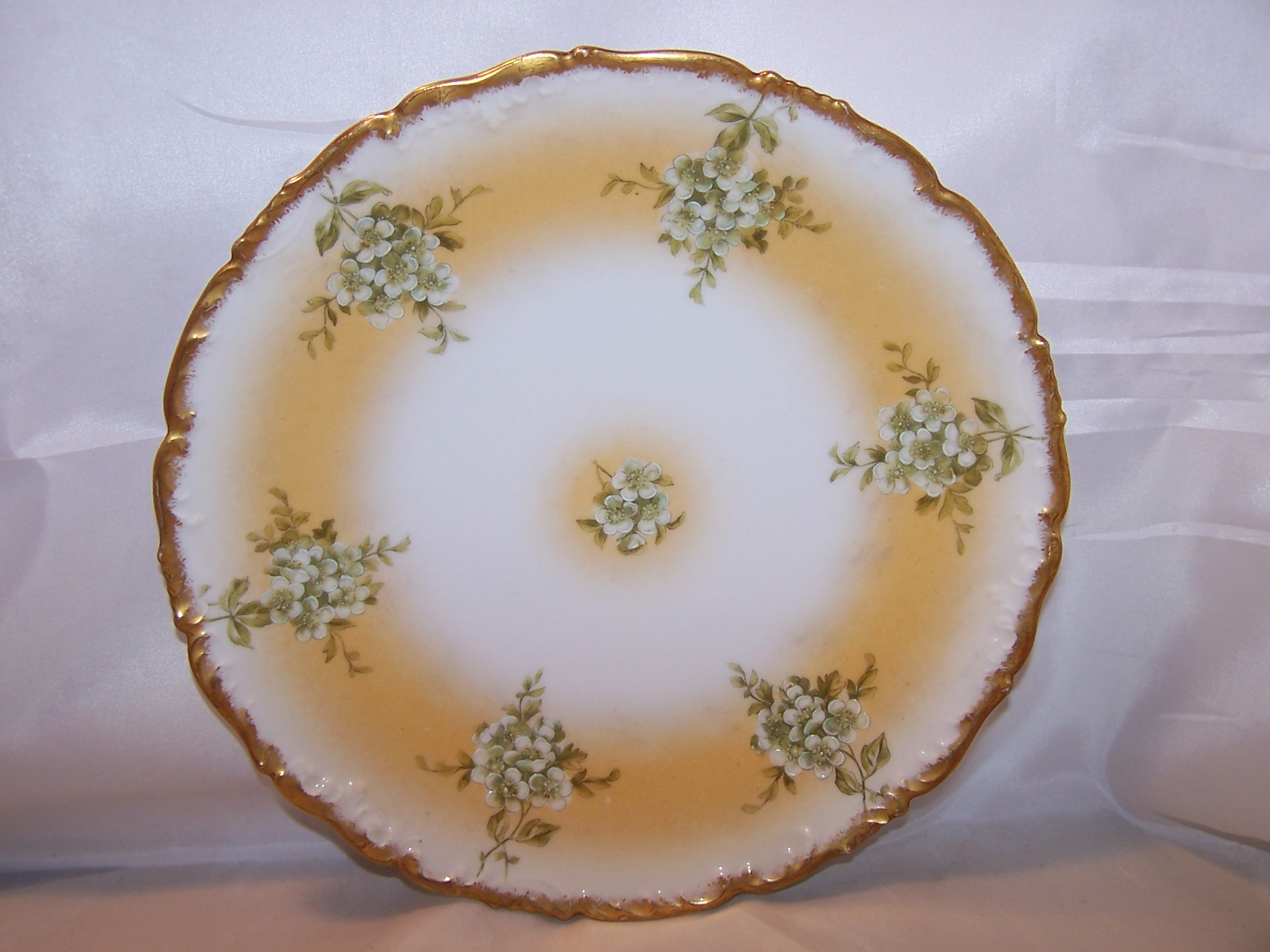 T&V Tressemanes & Vogt Depose Mistletoe Plate, France