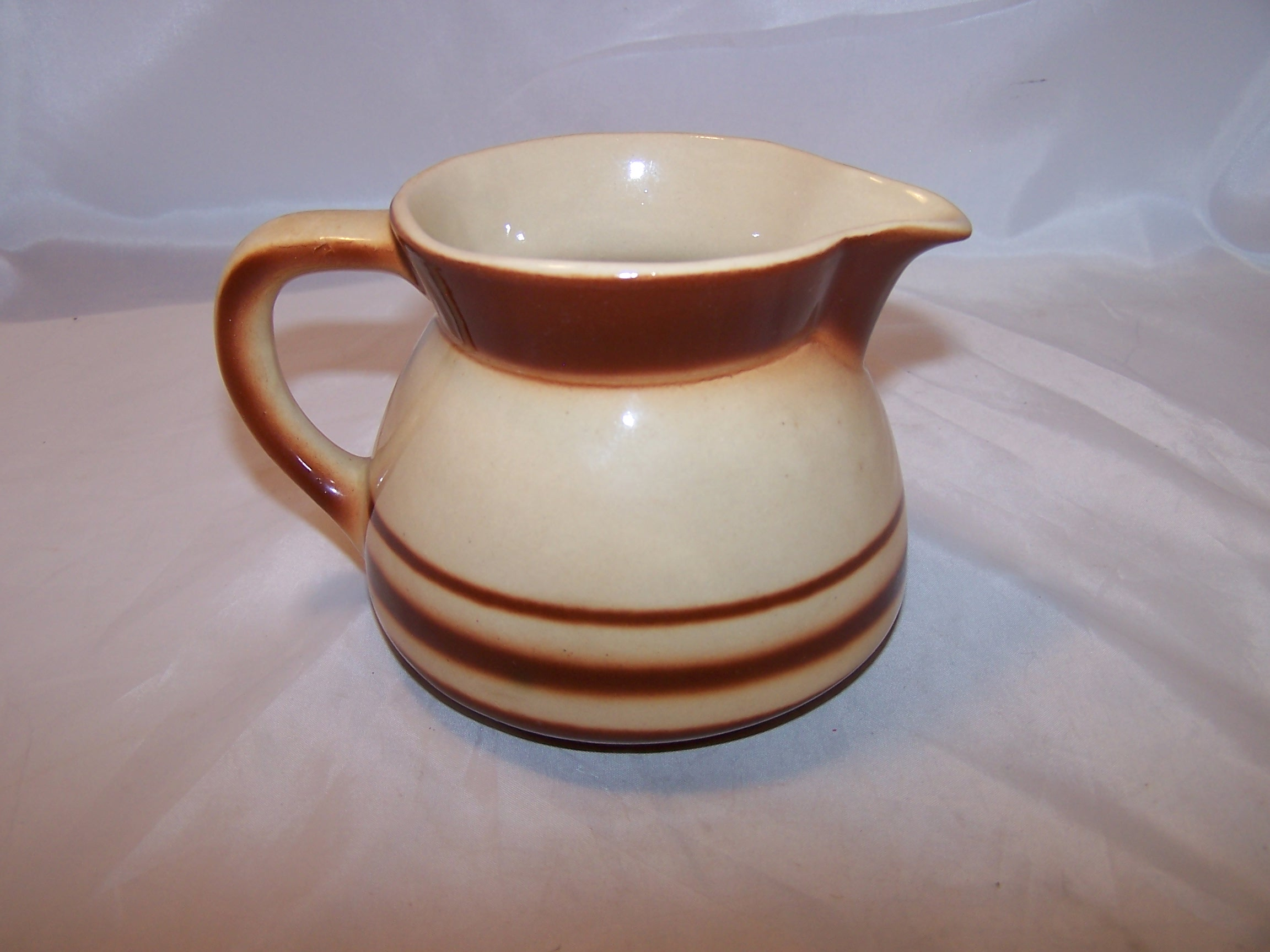 Bunzlauer Keramik Feuerfest Creamer, Brown, Polish Earthenware