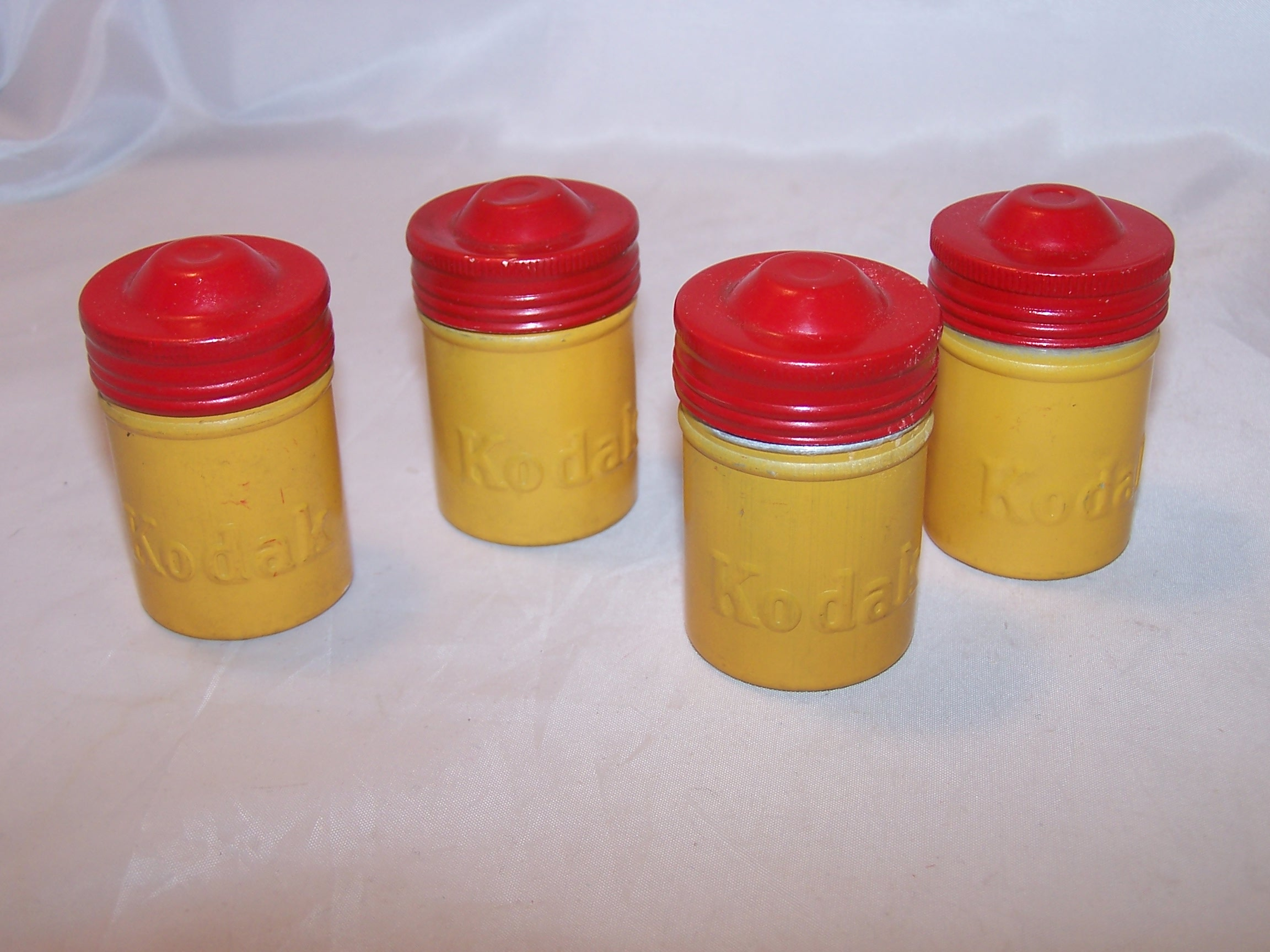 Kodak Gold and Red Canisters