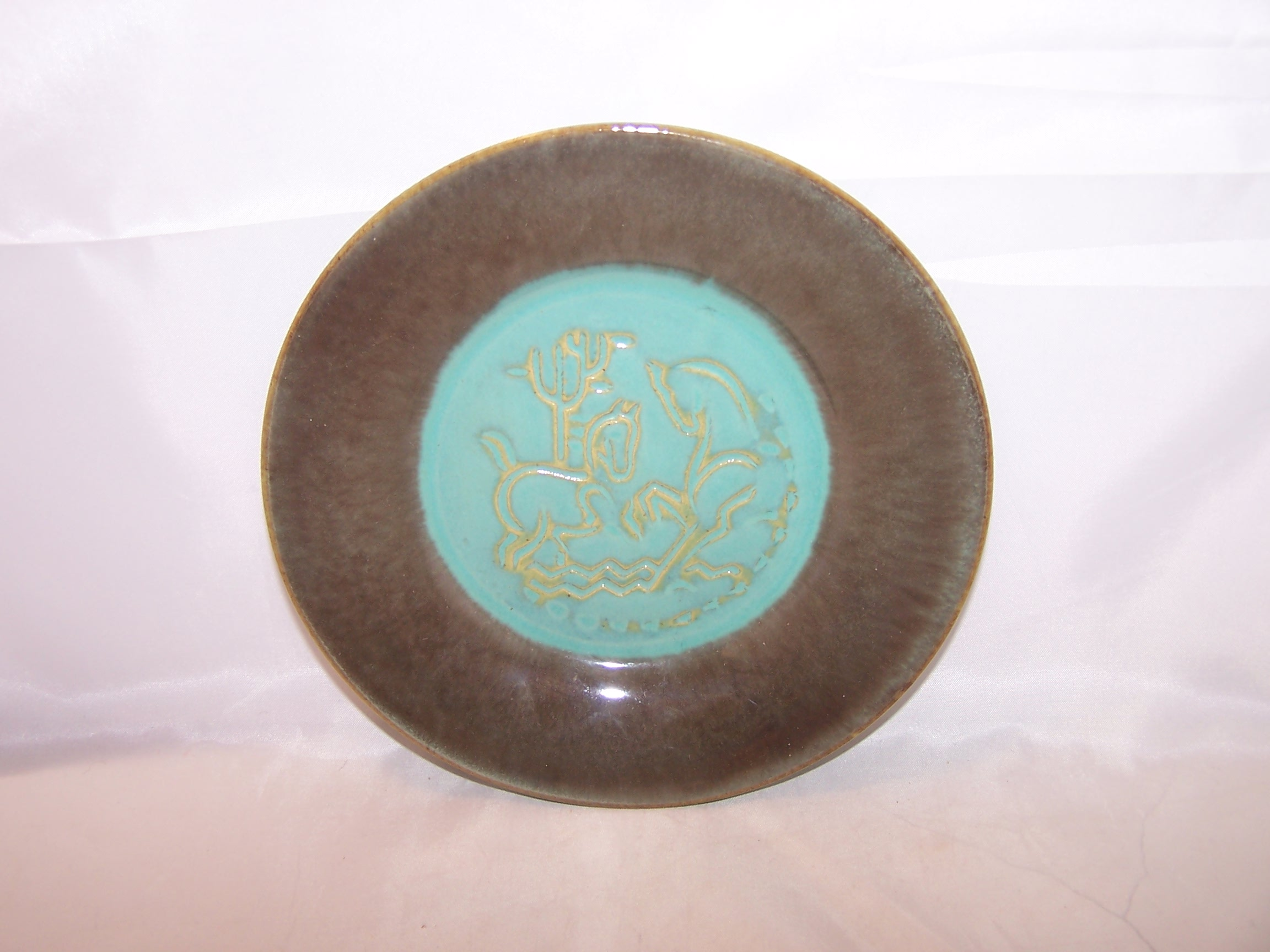 Image 1 of Romany Sparta, Salad Dessert Plate, Set of 4, US Ceramic Tile Company