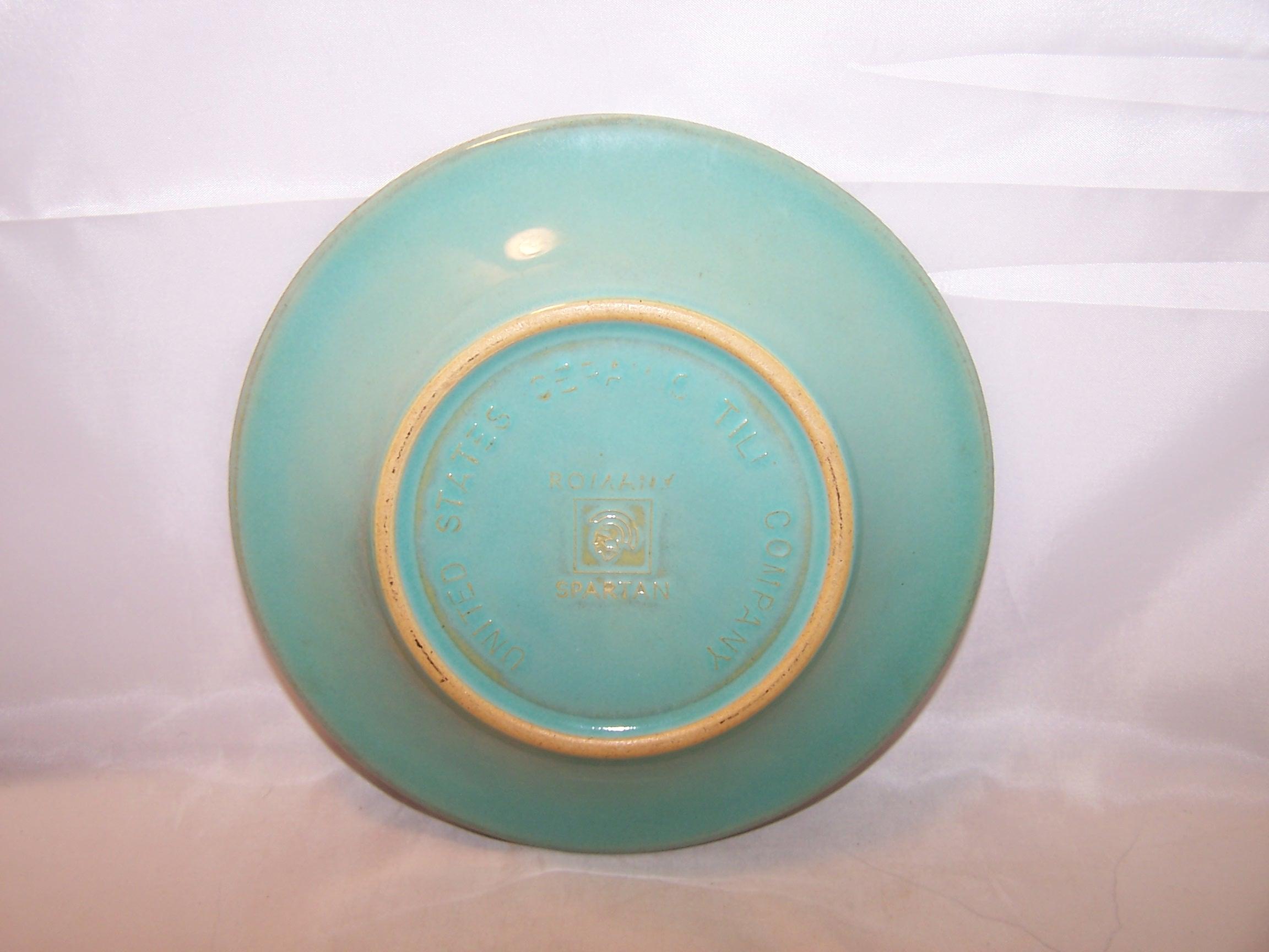 Image 4 of Romany Sparta, Salad Dessert Plate, Set of 4, US Ceramic Tile Company