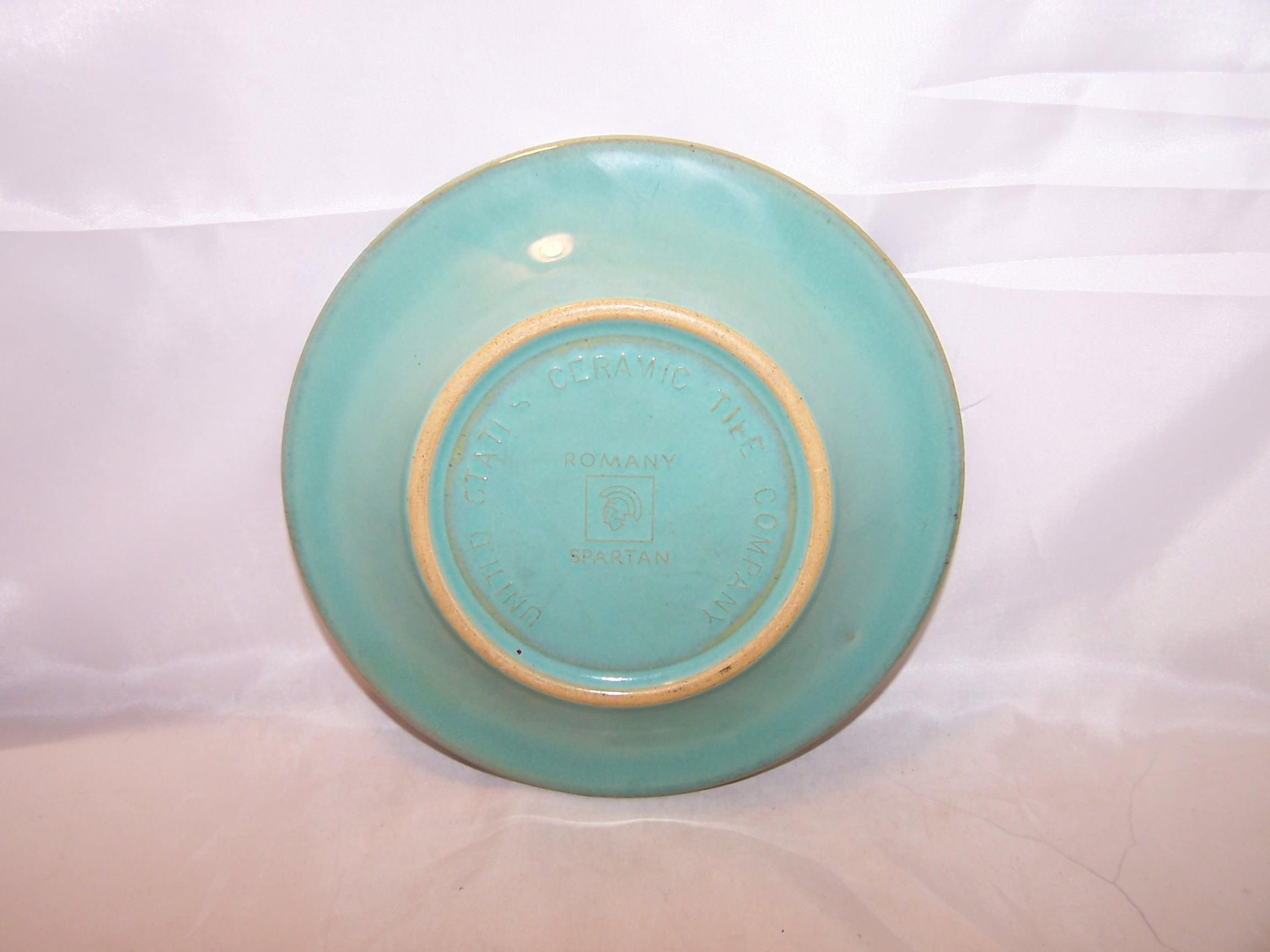 Image 2 of Romany Sparta, Salad Dessert Plate, Set of 4, US Ceramic Tile Company