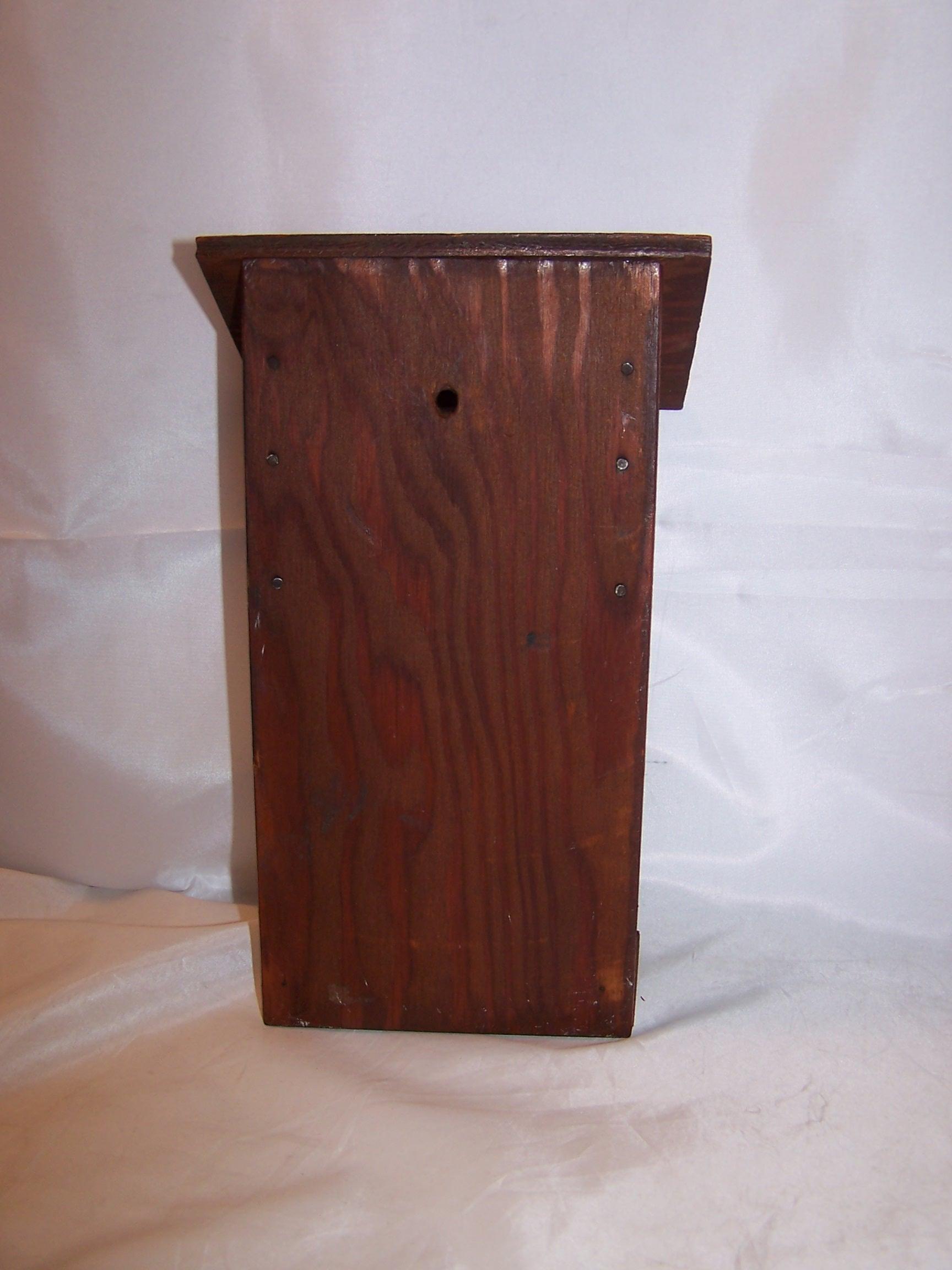 Image 5 of Cowboy Dinner Bell, Wood, Metal, Vintage