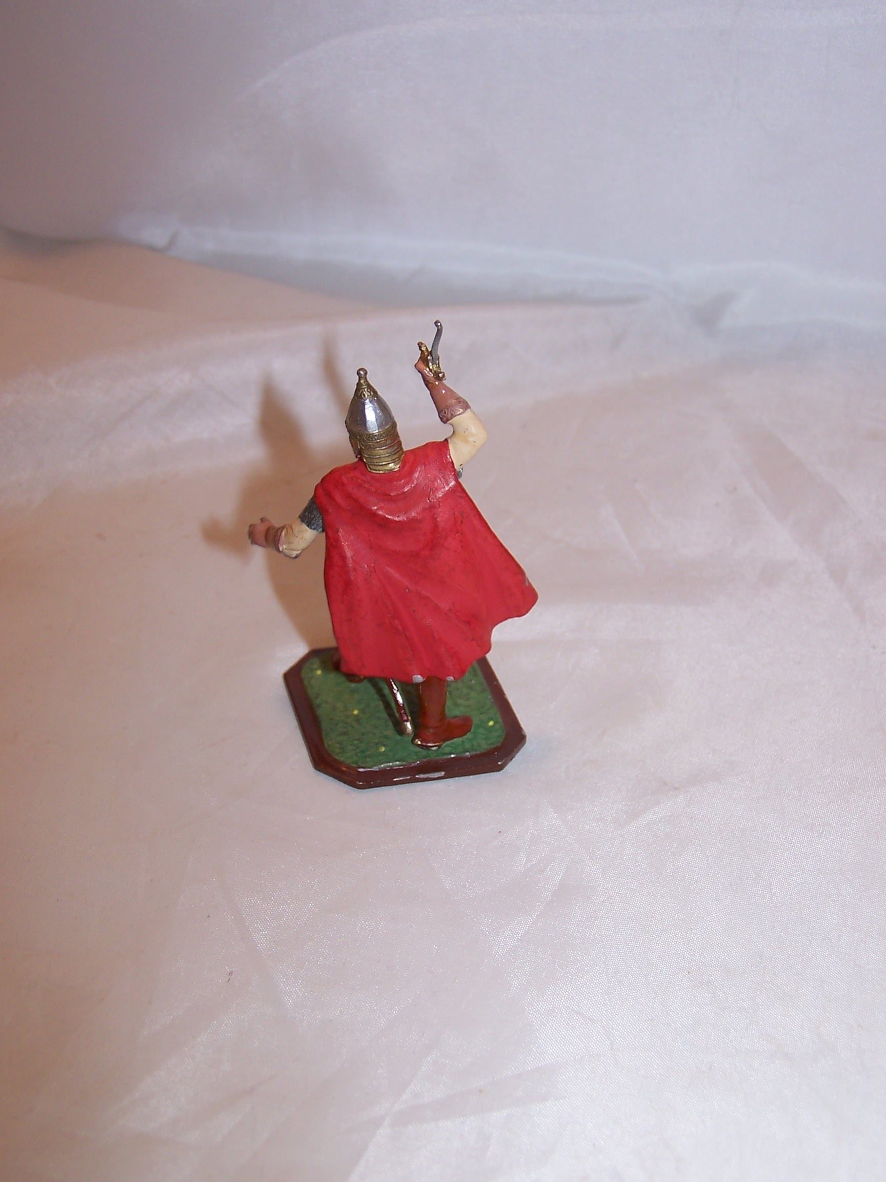 Image 3 of Roman Soldier, Painted Metal, Signed, Highly Detailed