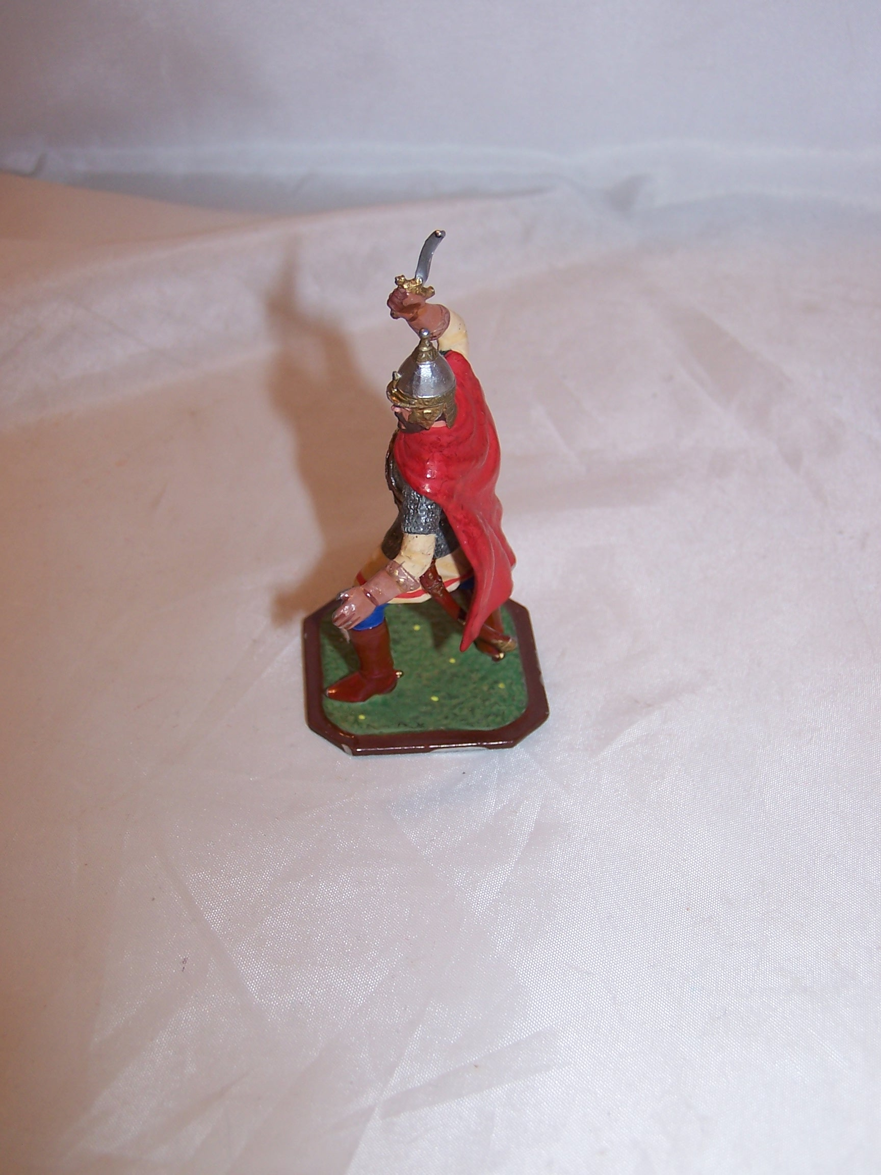 Image 4 of Roman Soldier, Painted Metal, Signed, Highly Detailed