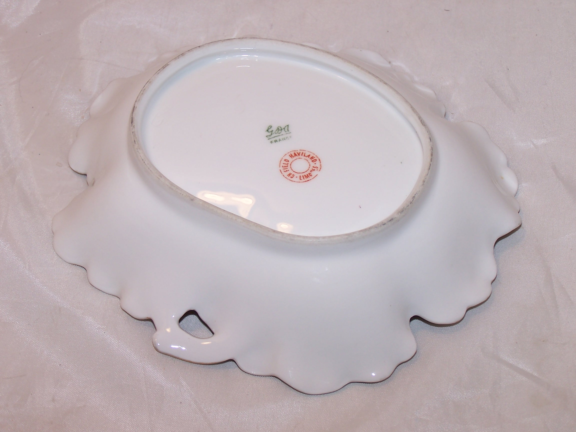 Image 2 of GDA France, CH Field Haviland Limoges Pin Dish