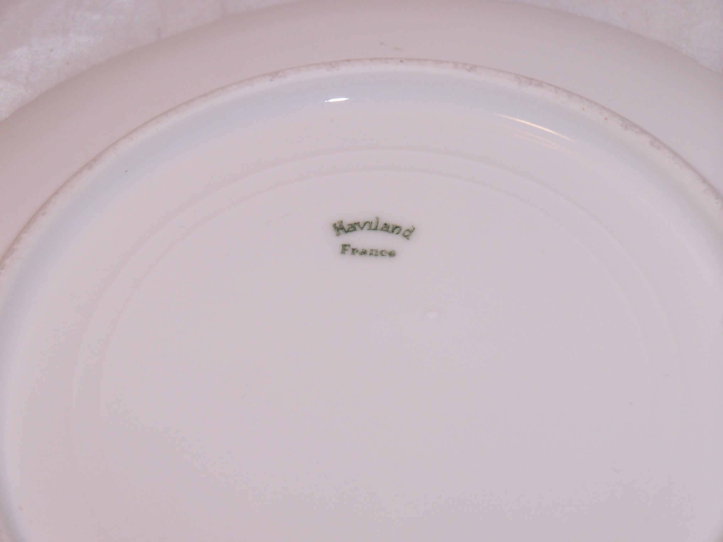 Image 2 of Haviland France Cherry Branch Plate, Artist Signed Magoris