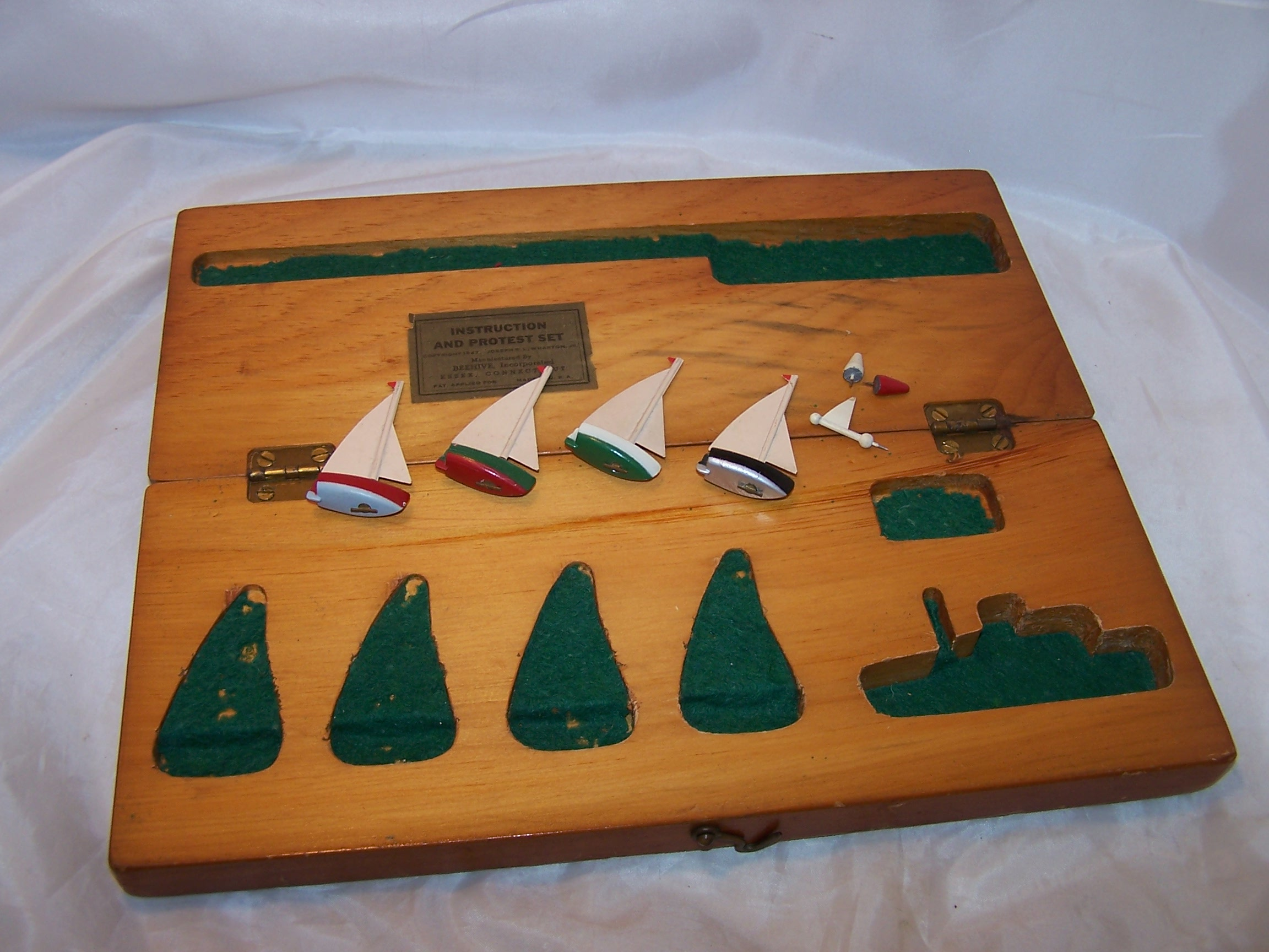 Image 3 of Boat Racing Protest Set, 1947