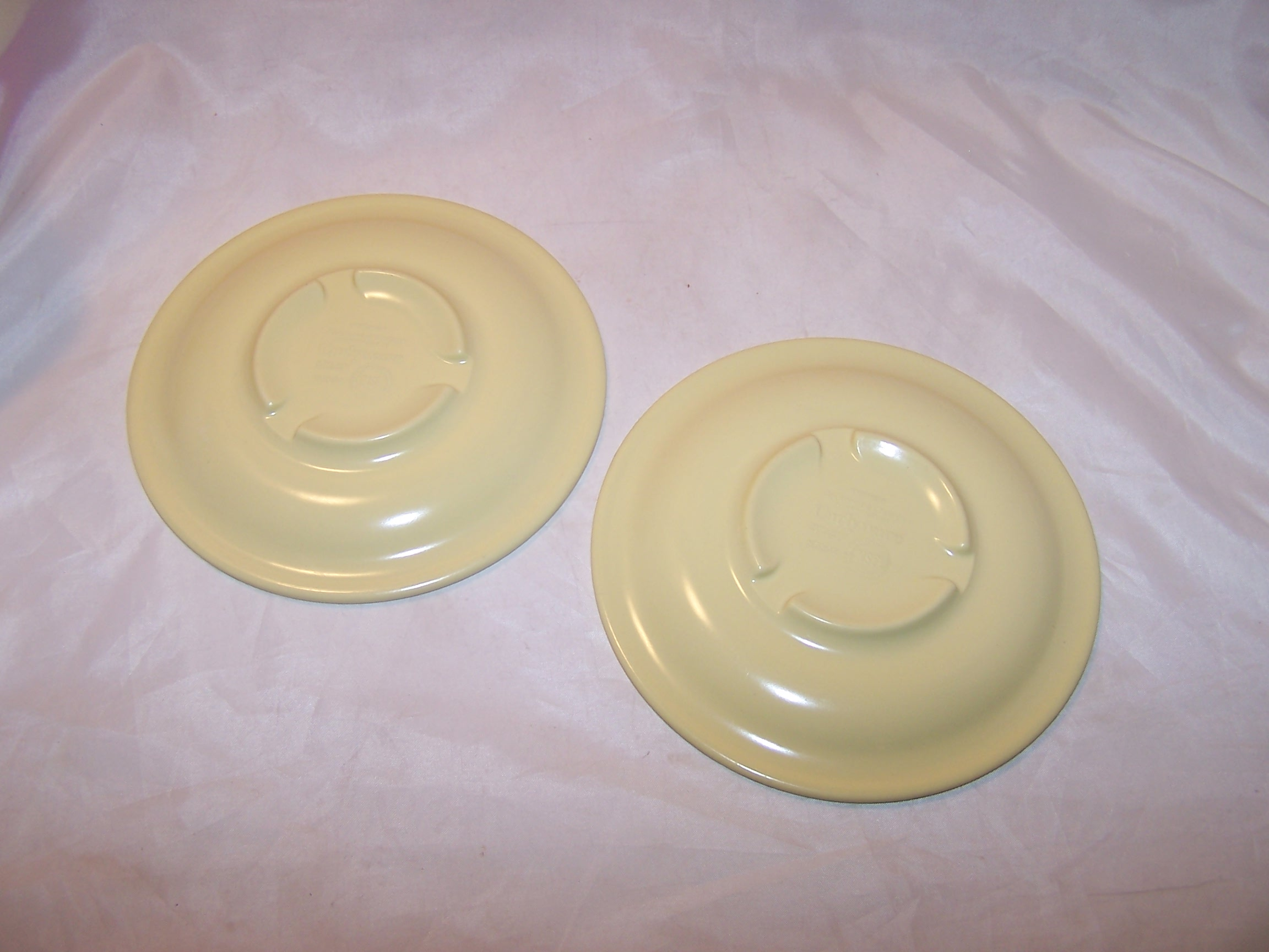 Image 1 of Carlyware Yellow Melmac Melamine Saucers, N7802