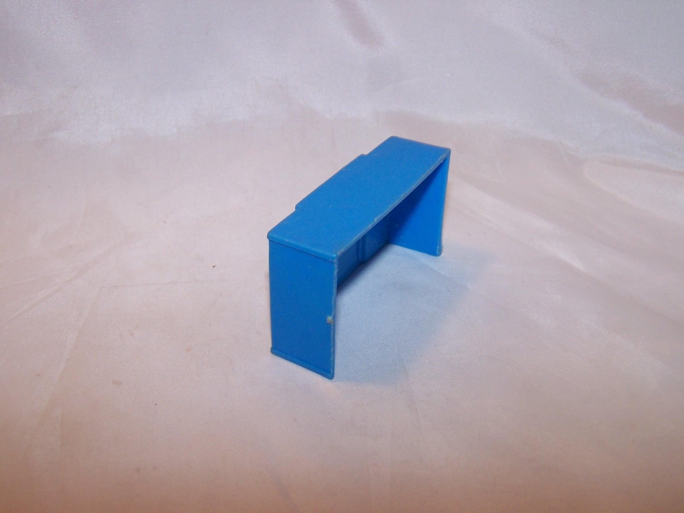 Image 2 of Dollhouse Blue Dresser, Plastic, Vintage
