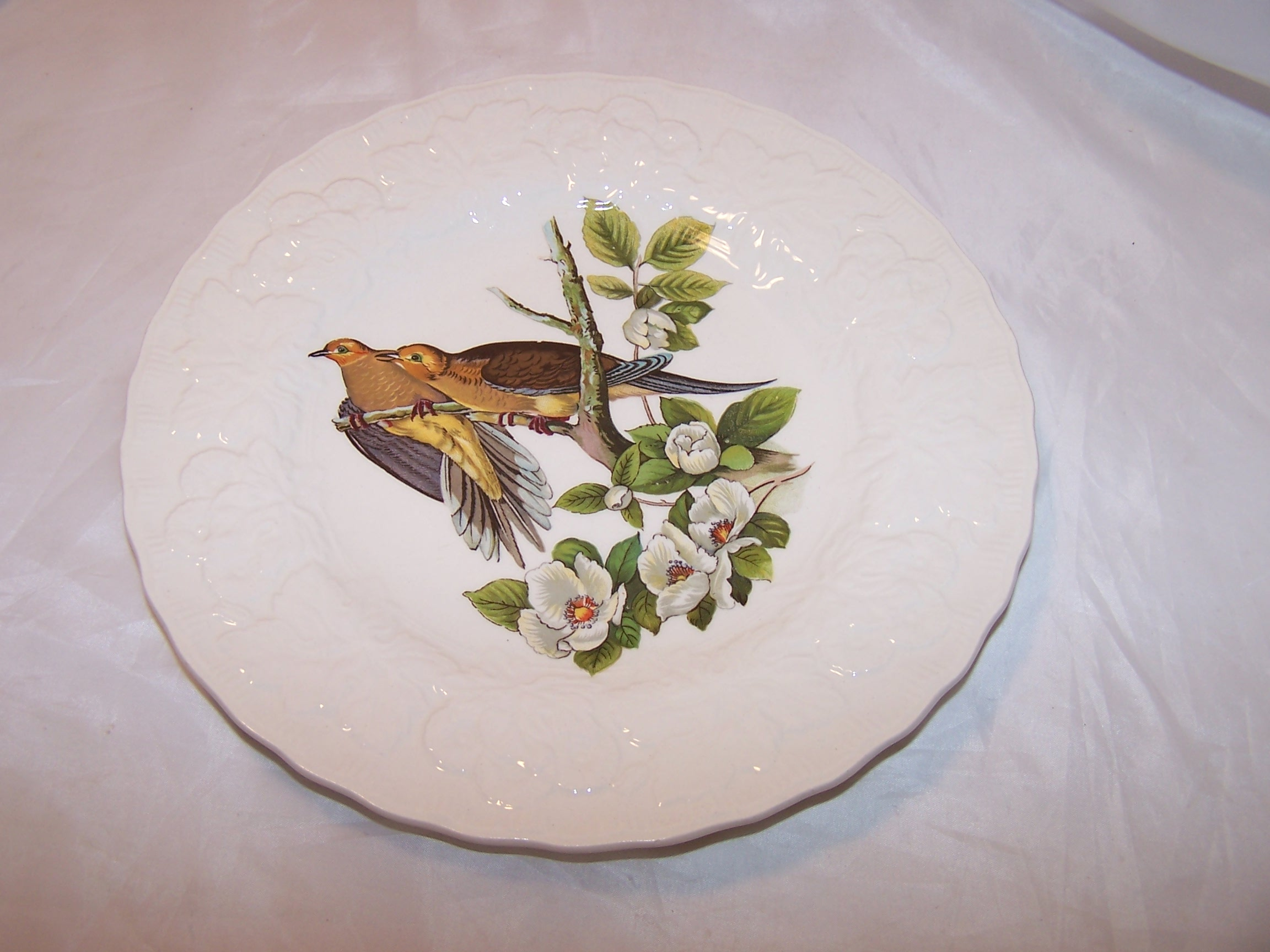 Alfred Meakin Salad Plates Birds Of America England